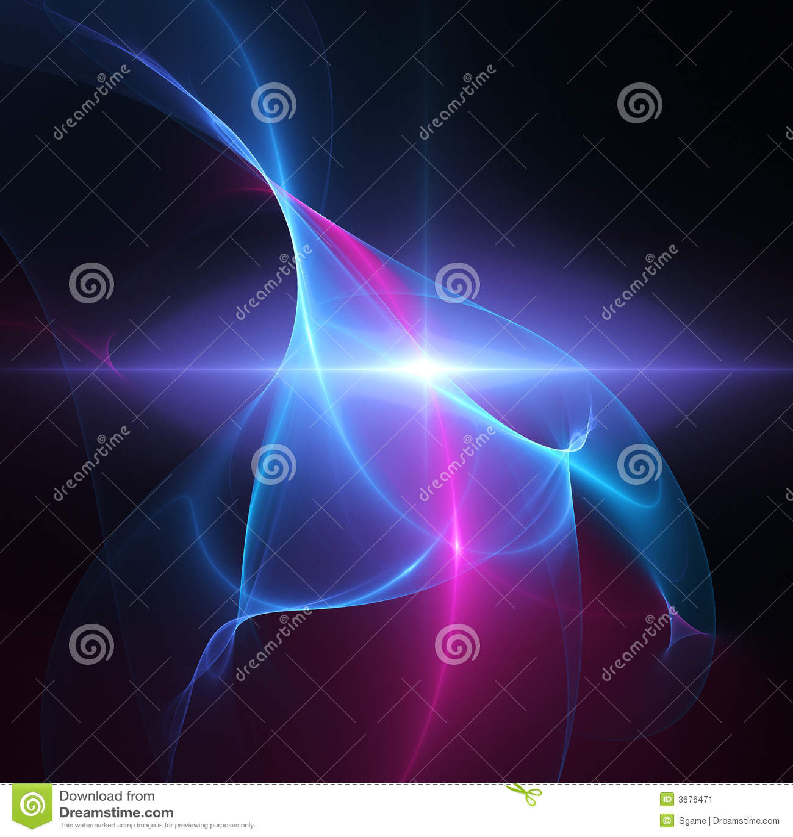 Download Lo spazio rays la stella illustrazione di stock. Illustrazione di raggio - 3676471