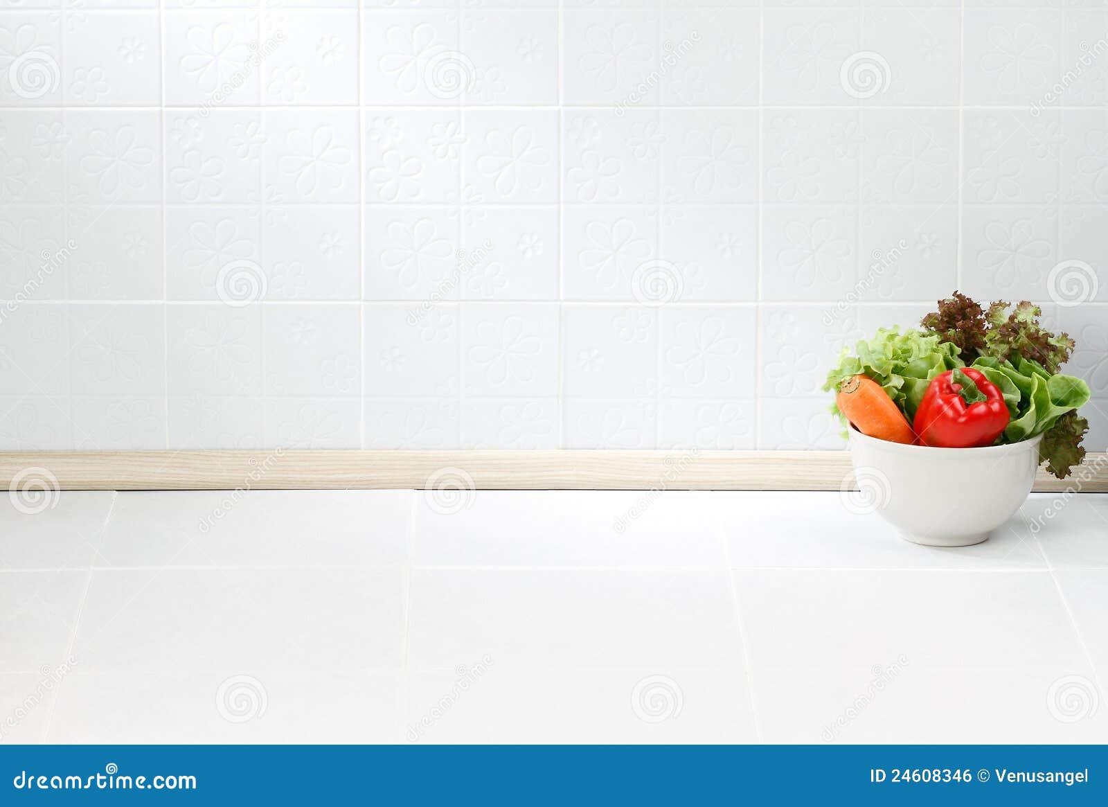 Lo spazio vuoto nella cucina