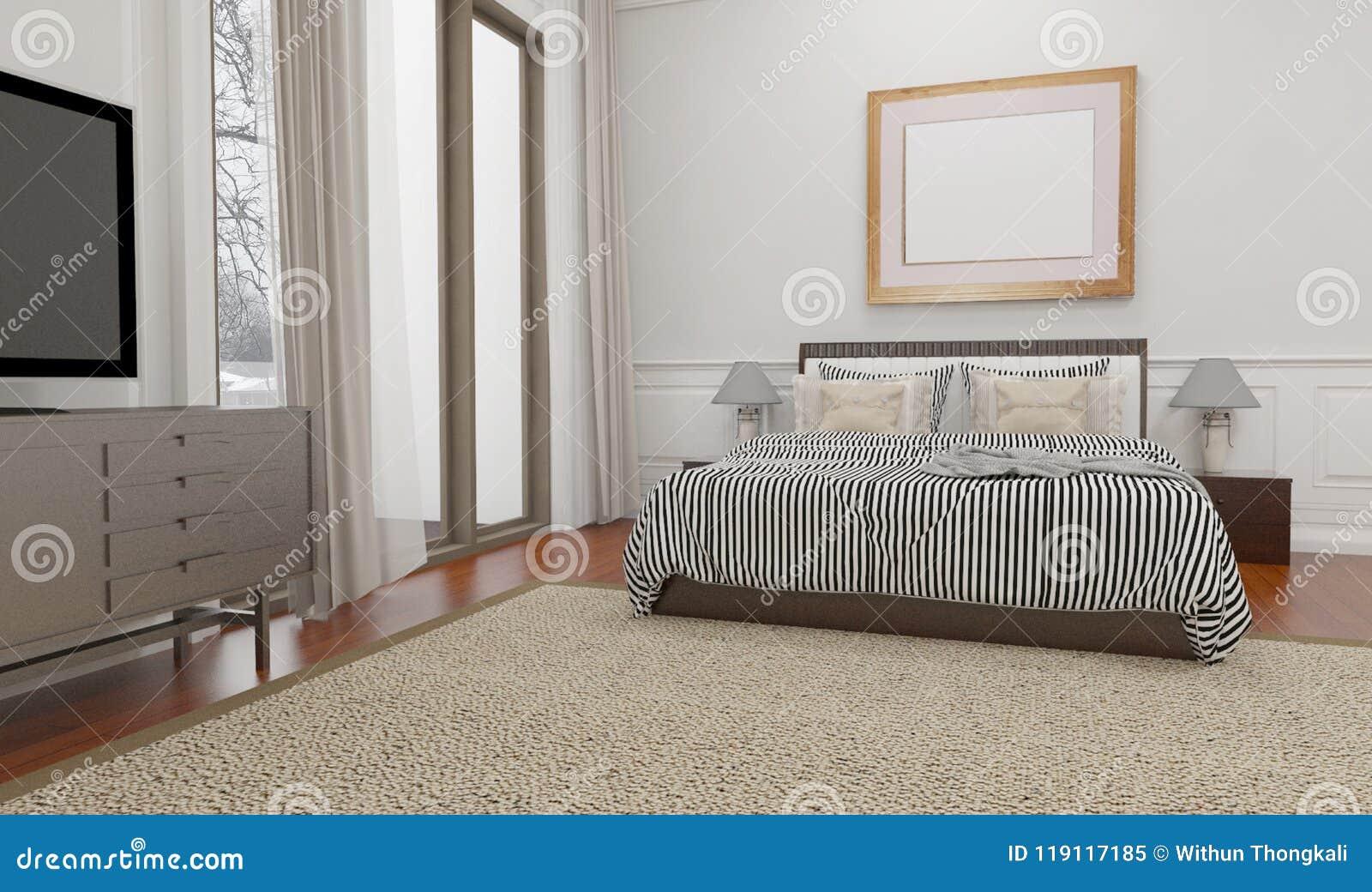Camera Da Letto Stile Minimalista : Lo stile minimalista e scandinavo con linterno accogliente della
