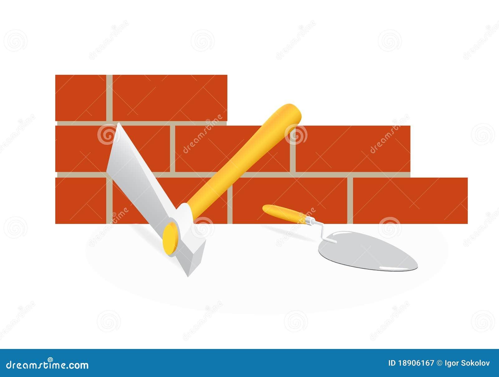 Lo strumento del muratore.