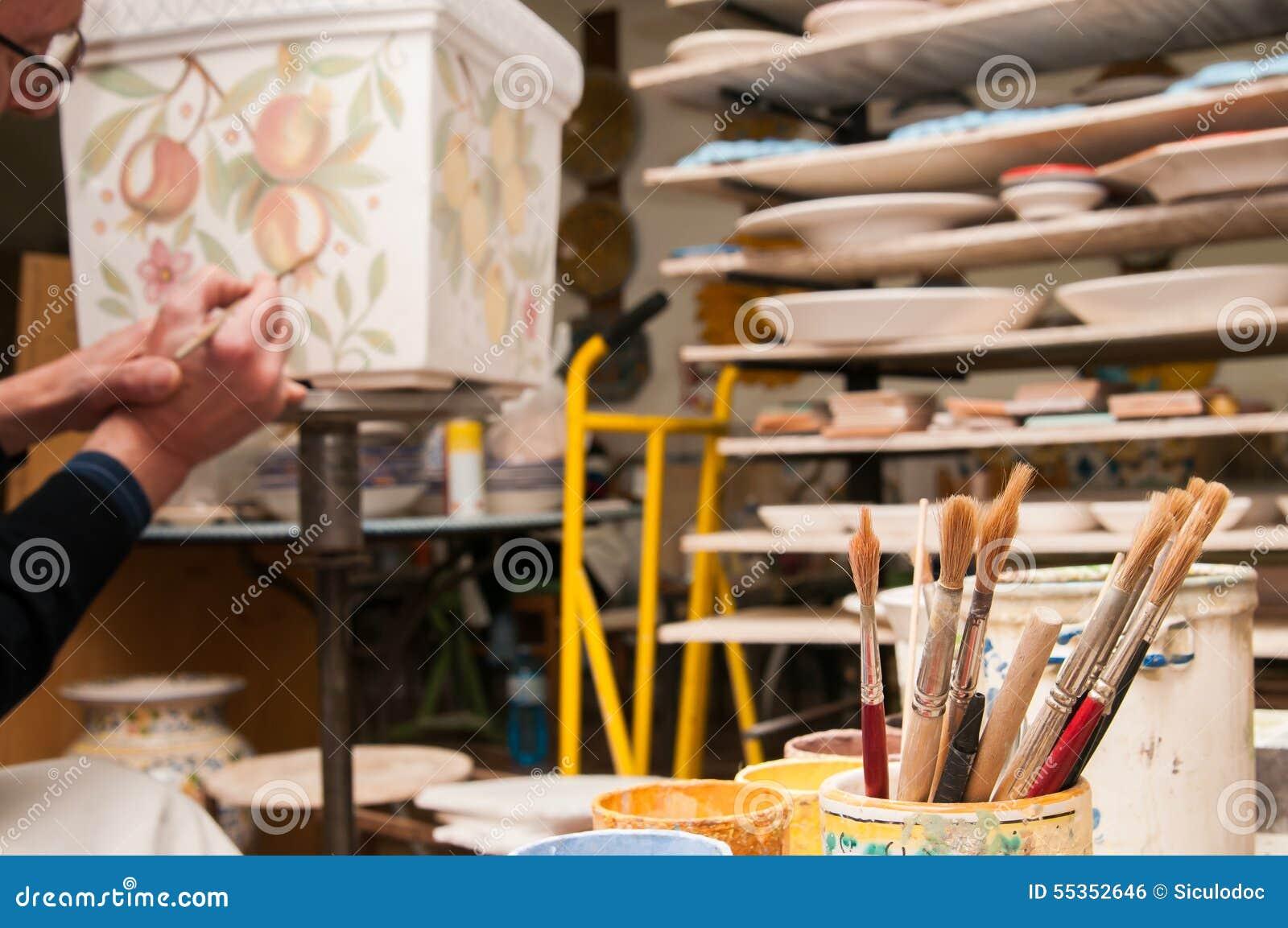 Lo studio dell artista