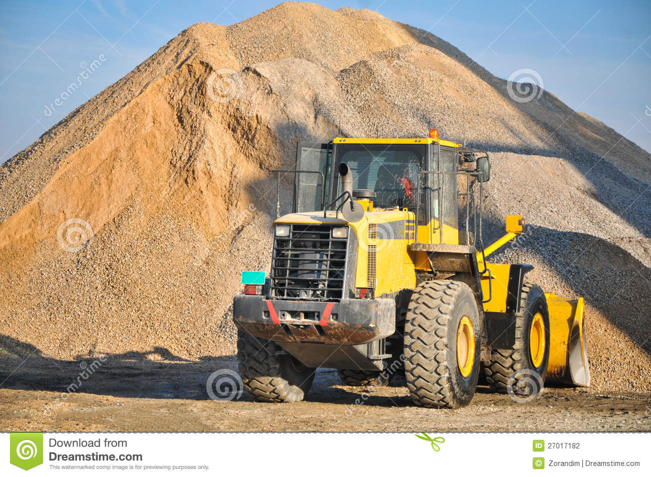 Stock photography loader excavator construction machinery equipment