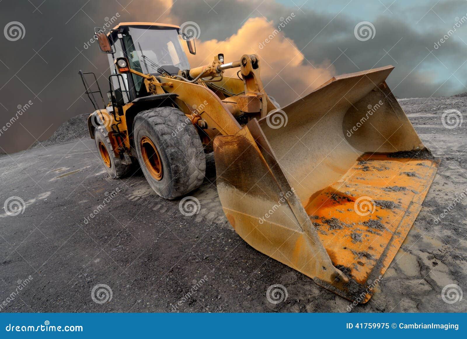Loader excavator