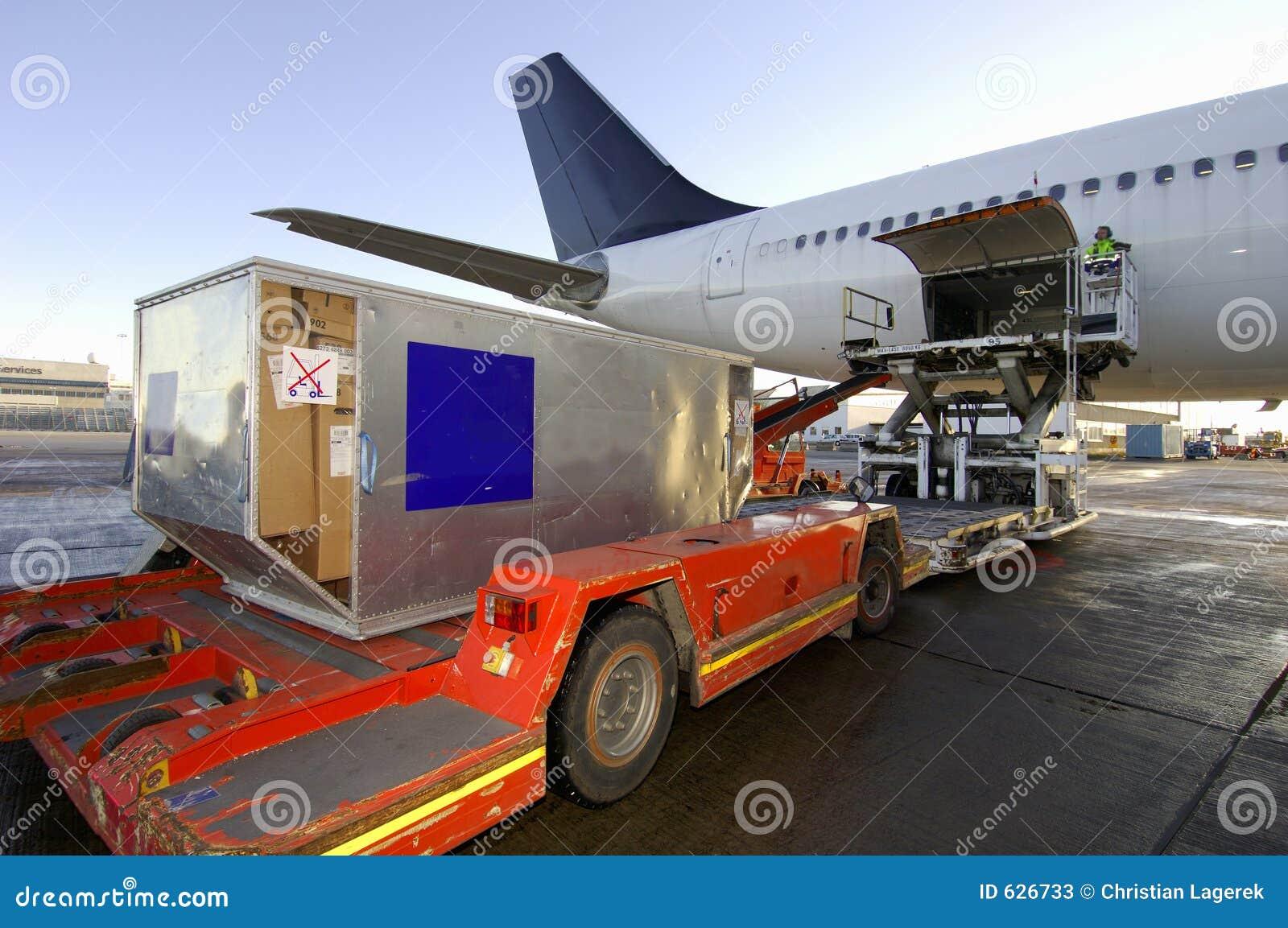 Stock Photo - PhotoDune Loading cargo plane 472908 ...