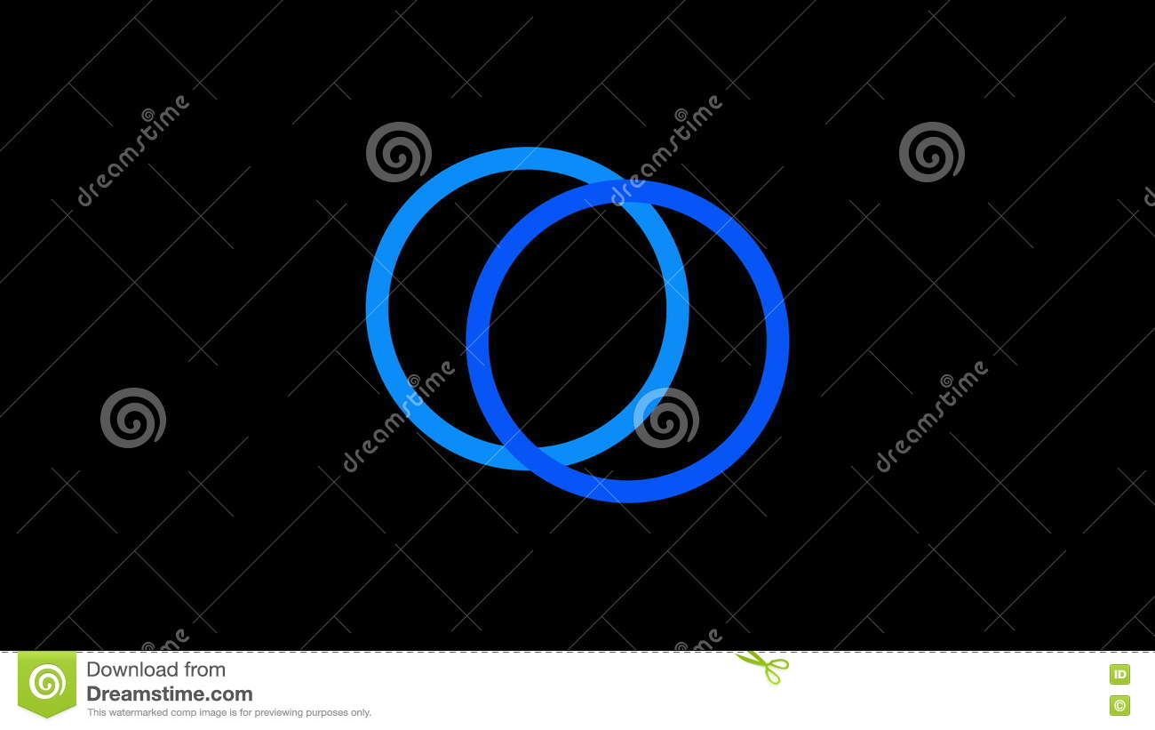 Loading Screen Circular Blue On Black Background 30fps Loop Video Texture Seamless Animated Element Stock Footage Video Of Application Gaming 76365584