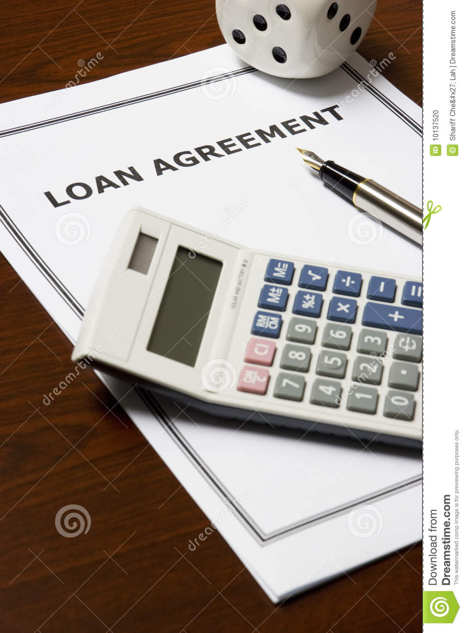 what is loan agreement