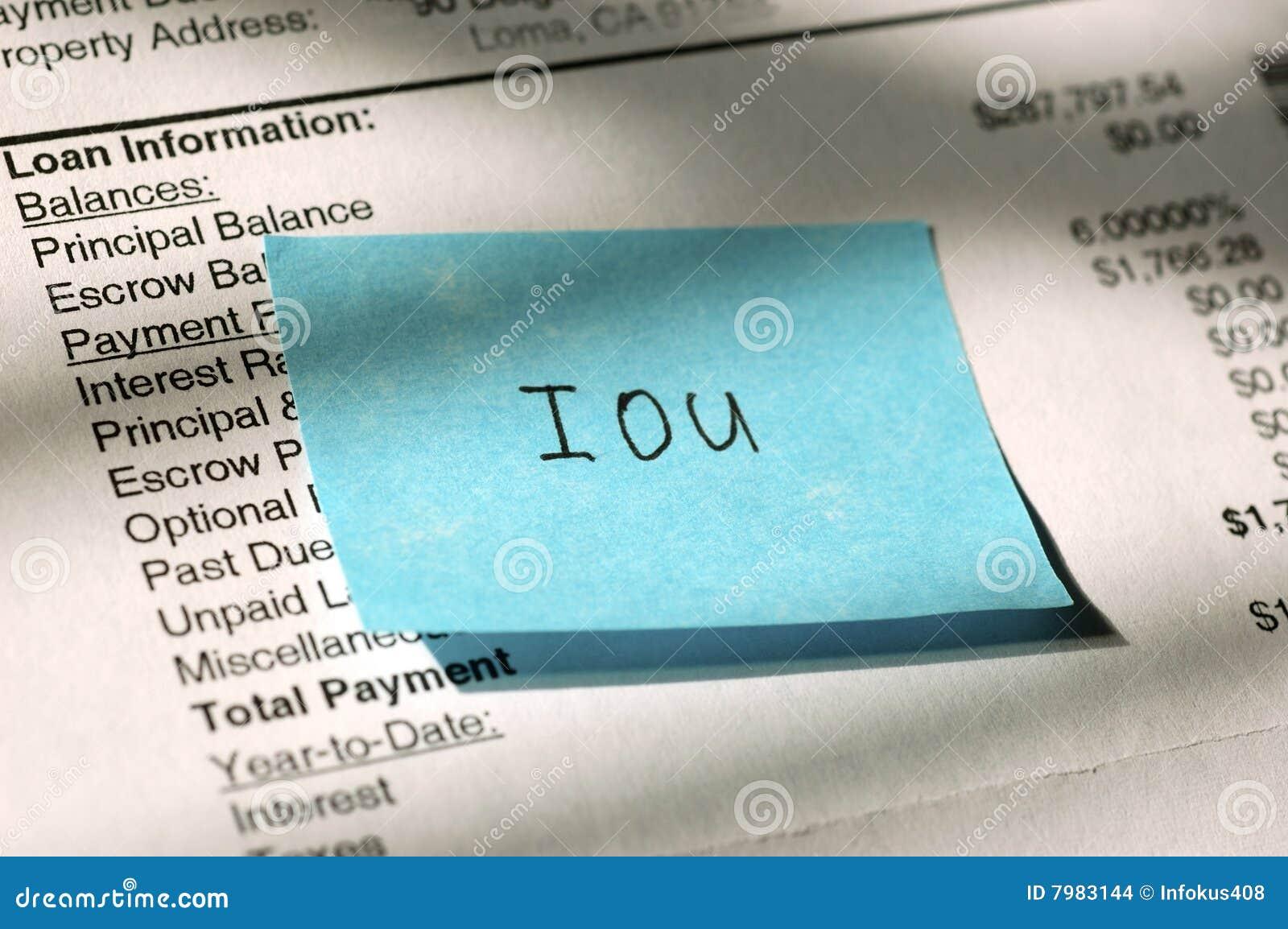 Loan IOU