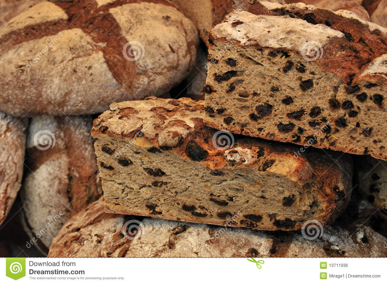 Loaves of Rustic Bread