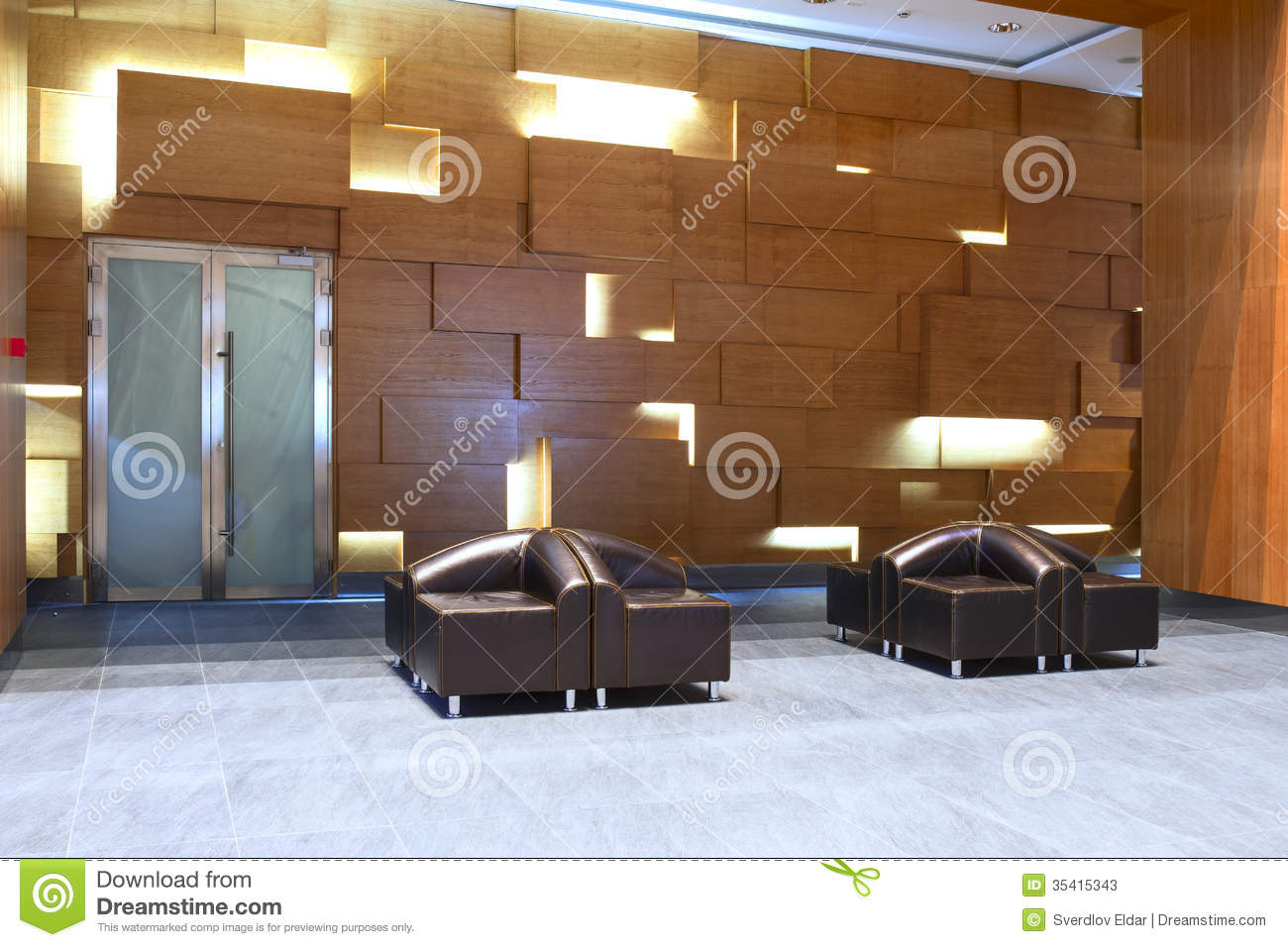 Lobby In The Business Centre Stock Photos Image 35415343
