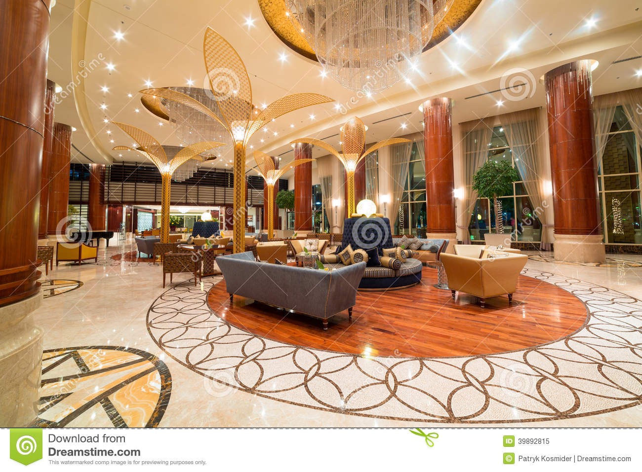 Modern classroom design - Lobby And Hall Of Khalidiya Palace In Abu Dhabi Uae Editorial Image