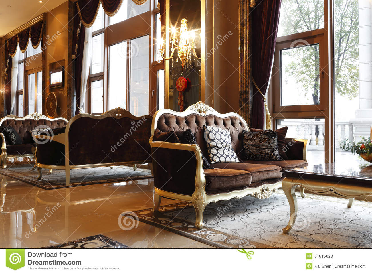 the lobby of the hotel stock photo image of drawings 51615028 rh dreamstime com