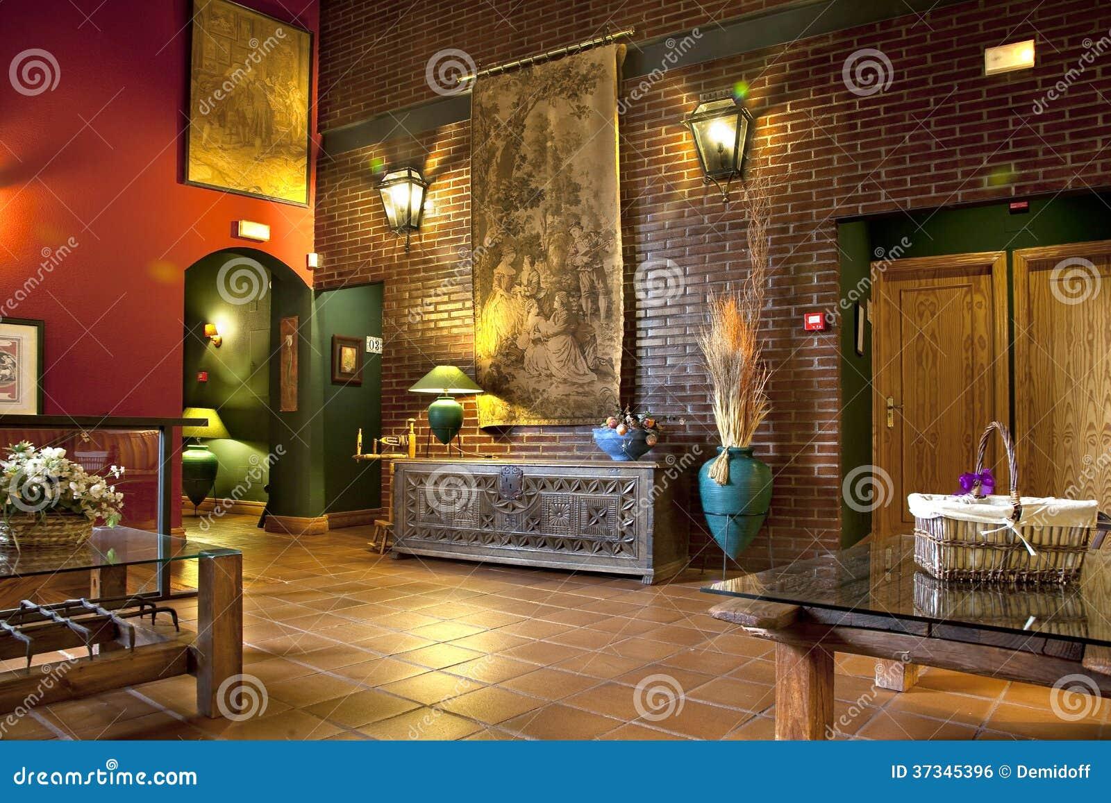 Lobby i hotell