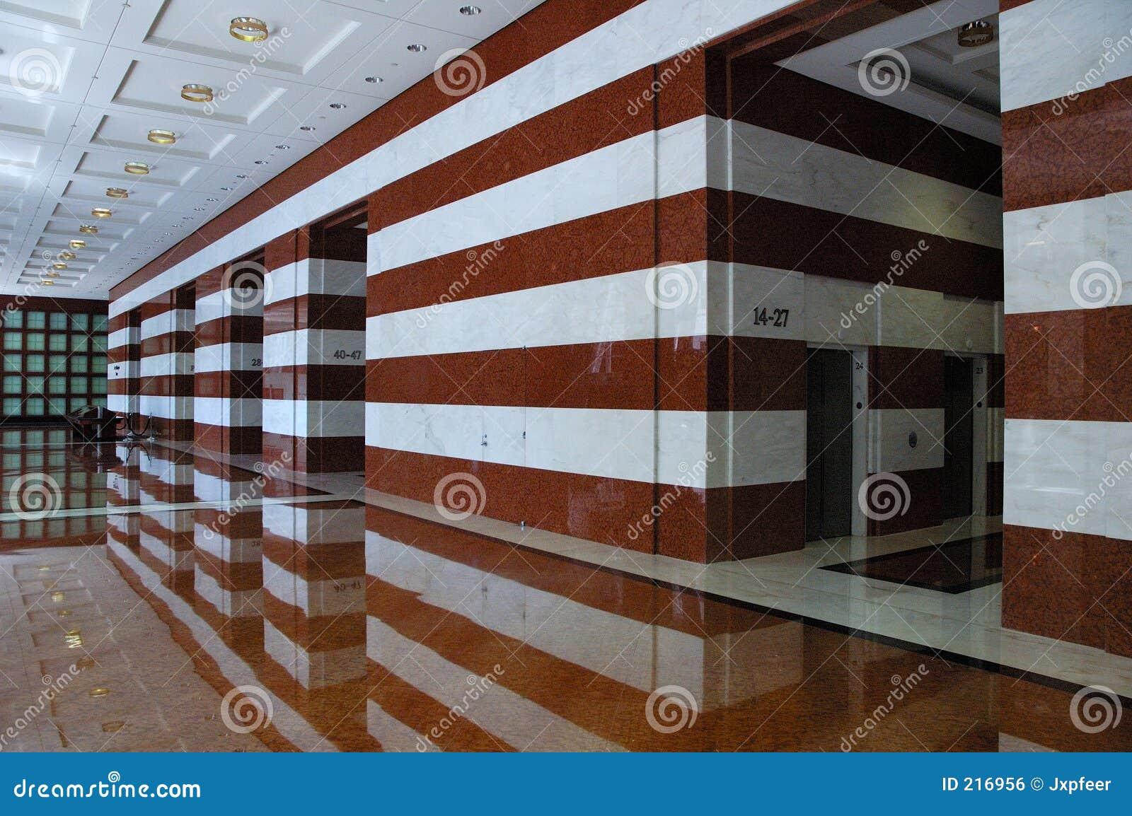 Lobby in Marble
