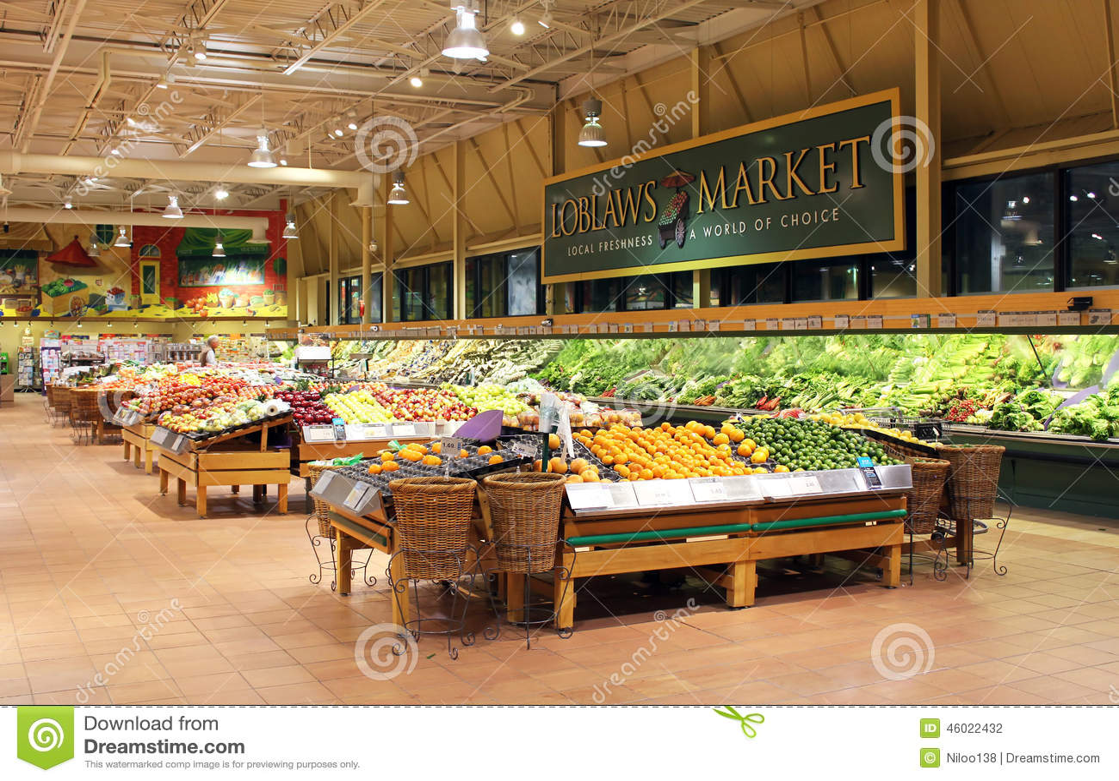 Loblaws Supermarket Editorial Photography