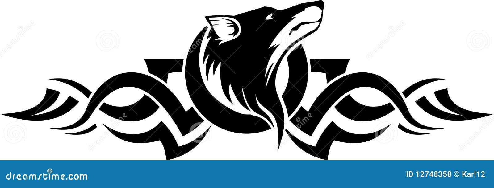 Lobos Perros Siluetas Mamíferos: Lobo Ilustración Del Vector. Ilustración De Símbolo