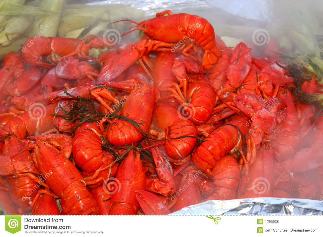 Lobster bake royalty free stock photos image 1295938 for Best time to visit maine for lobster