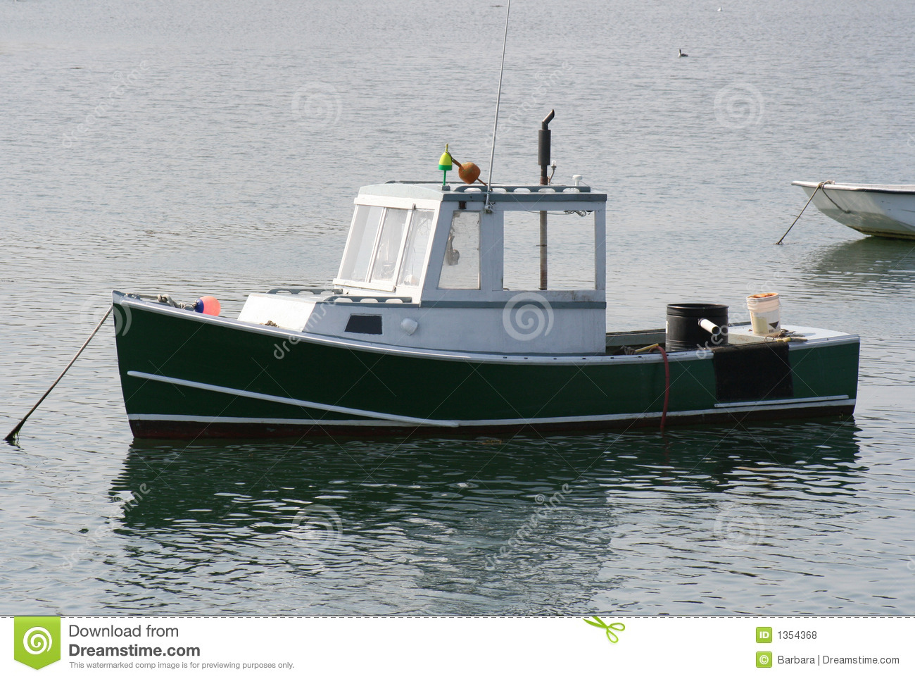 Lobster boat royalty free stock photos image 1354368 for Who sells fishing license near me