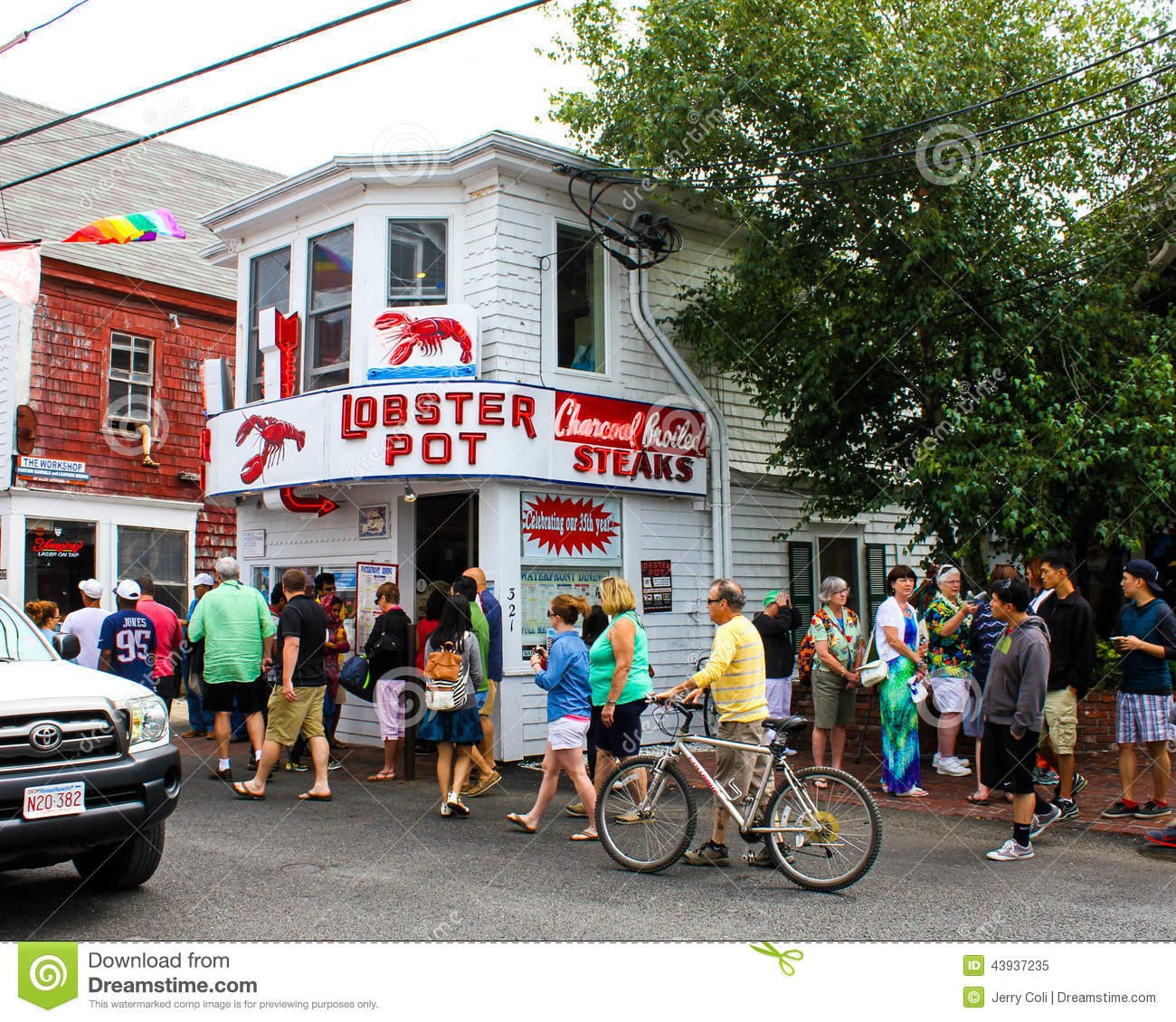 Lobster Pot, Provincetown, MA. Editorial Image