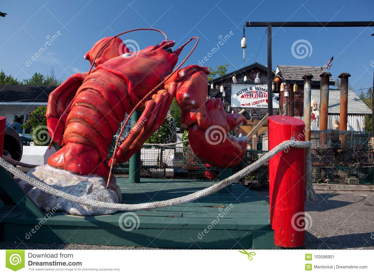 Lobster Restaurant In Maine Editorial Photo Image Of Maine