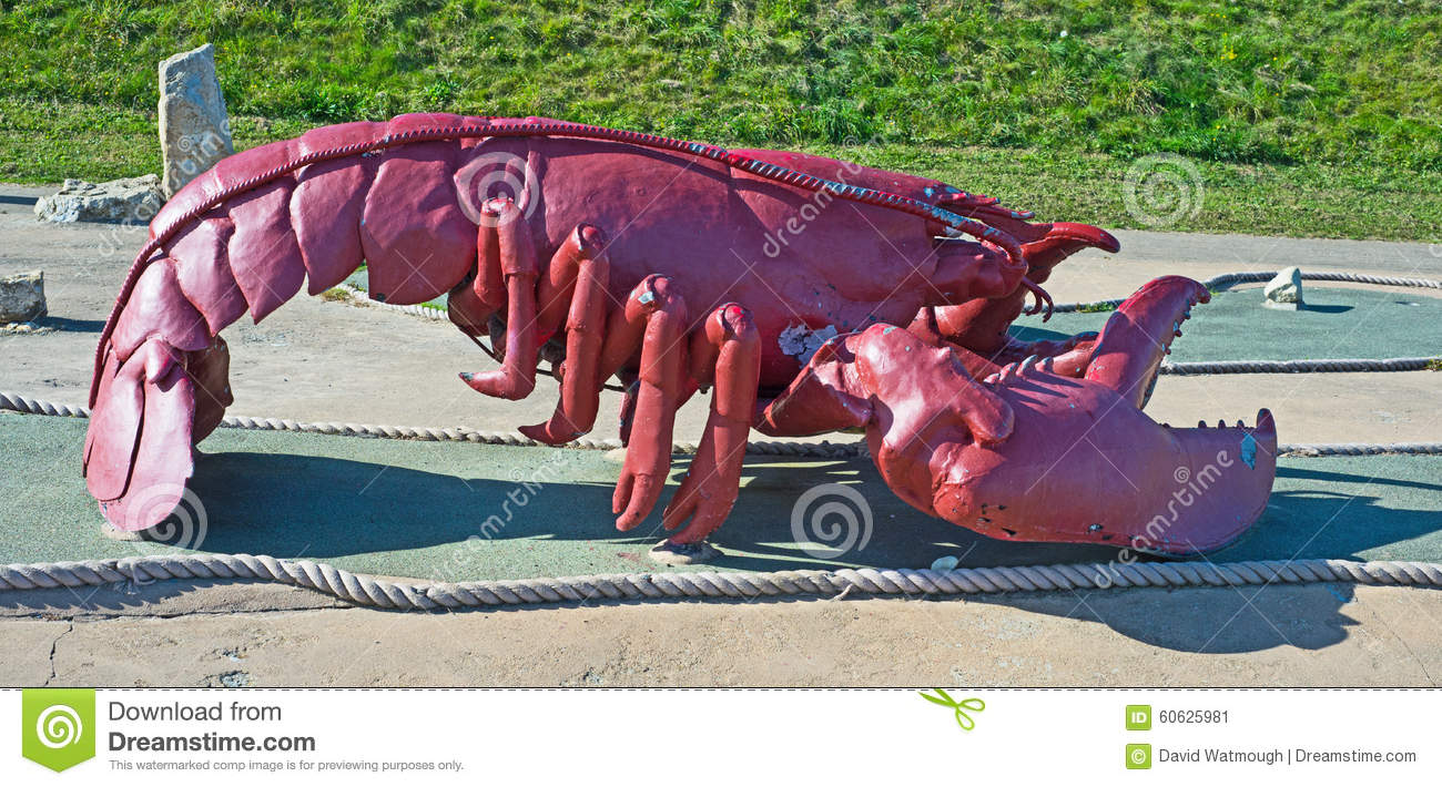 Lobster sculpture
