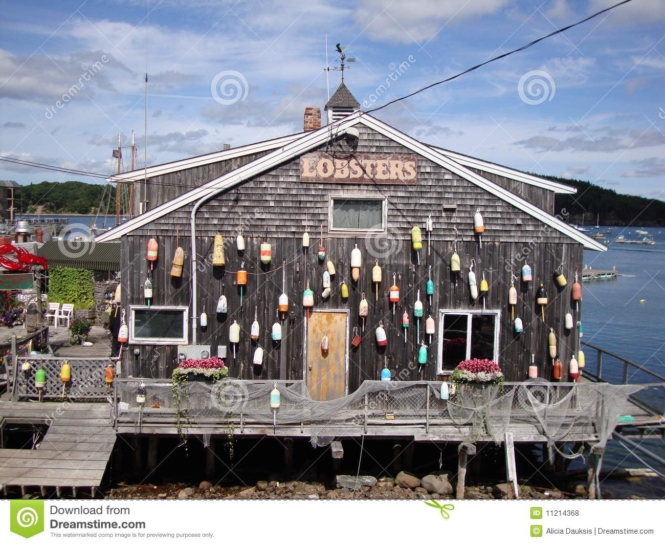 Lobster Shack Royalty Free Stock Photos - Image: 11214368