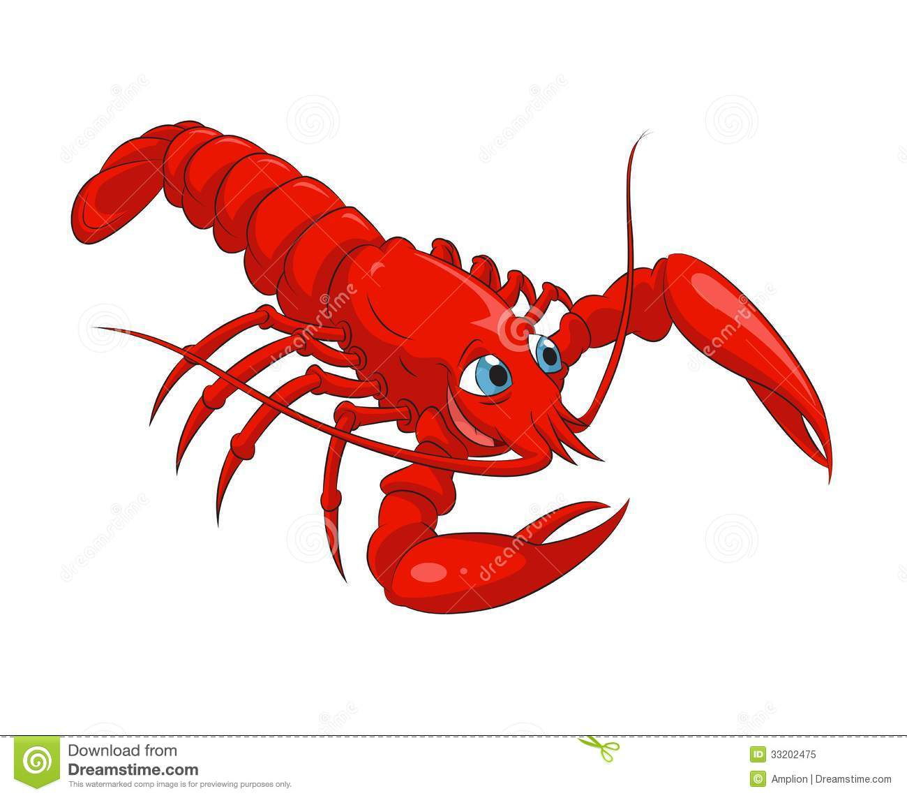 funny lobster clipart - photo #36