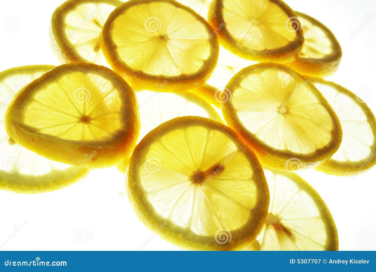Download Lobuli del limone immagine stock. Immagine di dieta, mandarino - 5307707