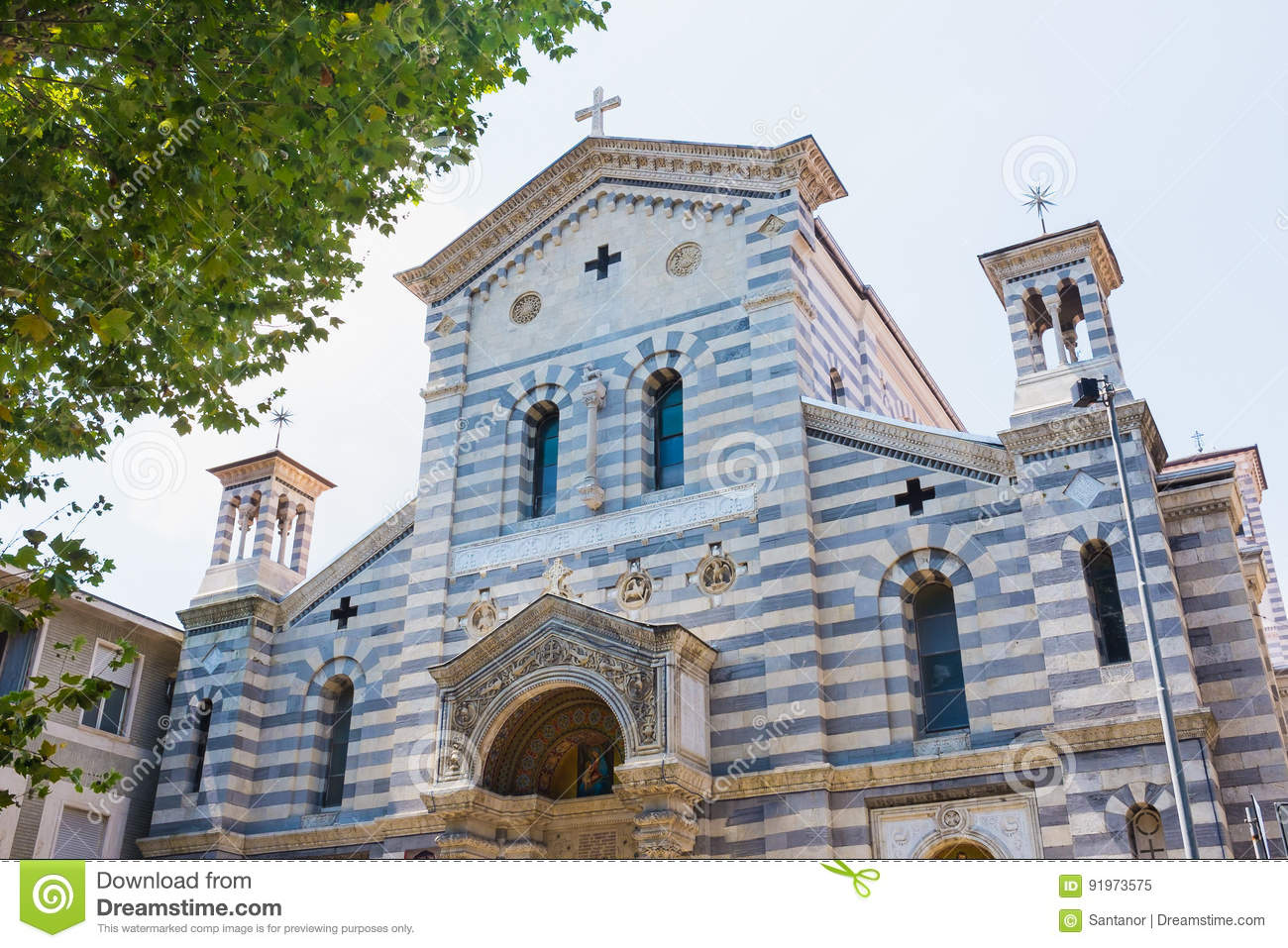The local Church of La Spezia, Church of Our Lady of the Snows