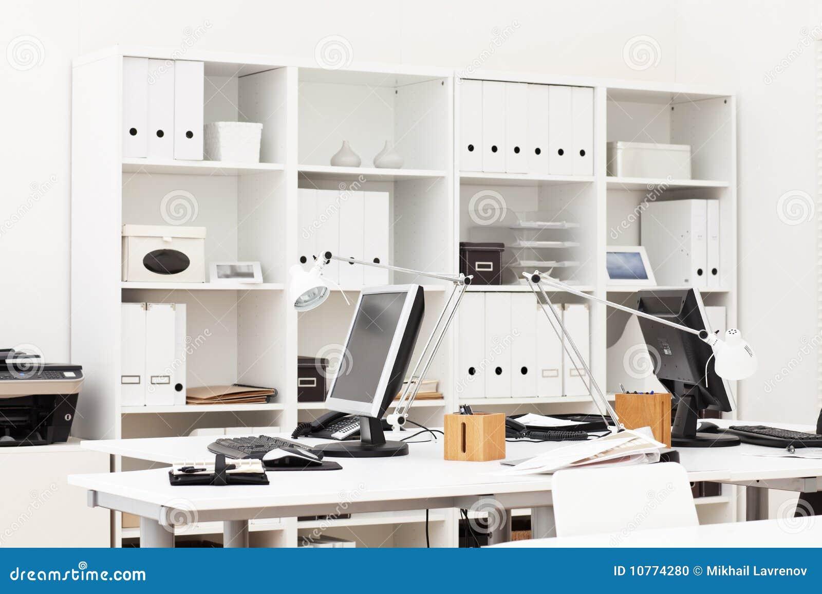 Local de trabalho do escritório