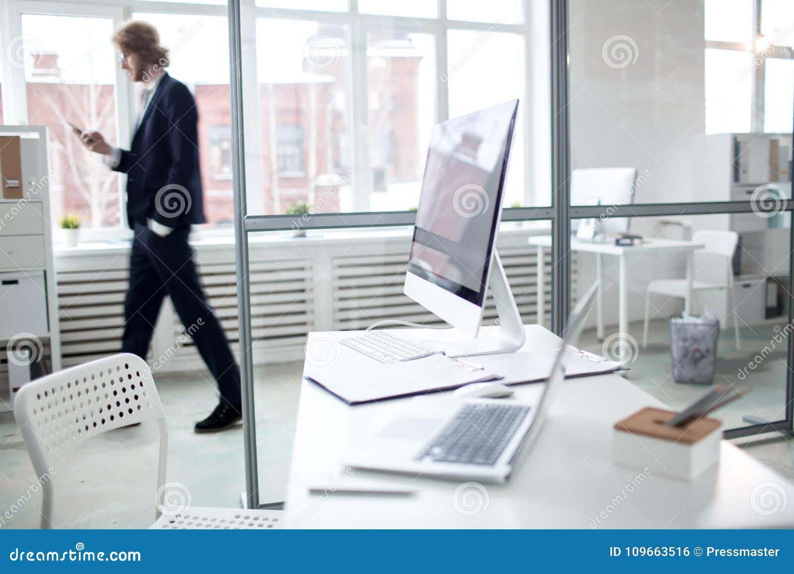 Local de trabalho moderno