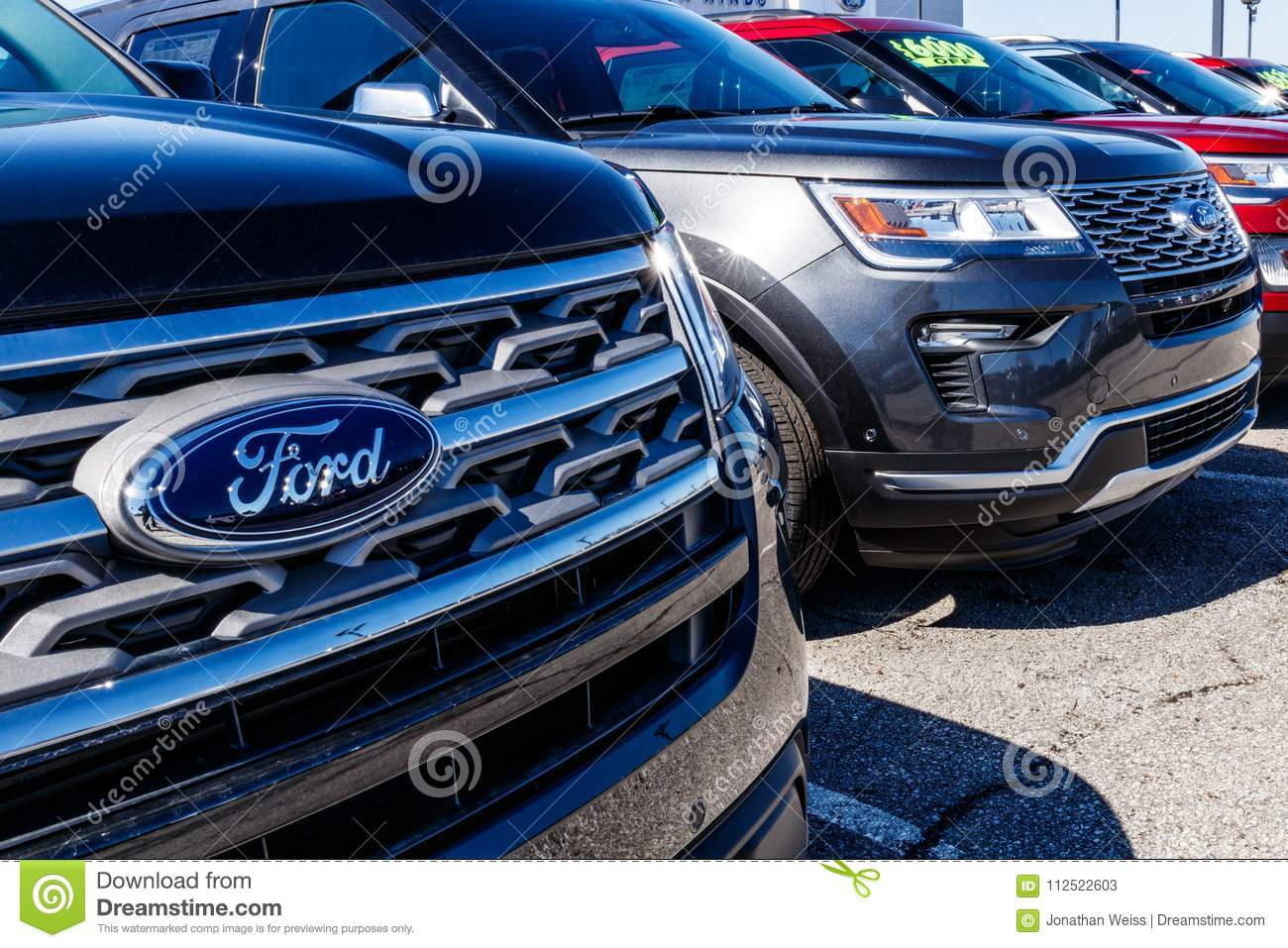 Fishers Circa March 2018 Local Ford Car And Truck Dealership