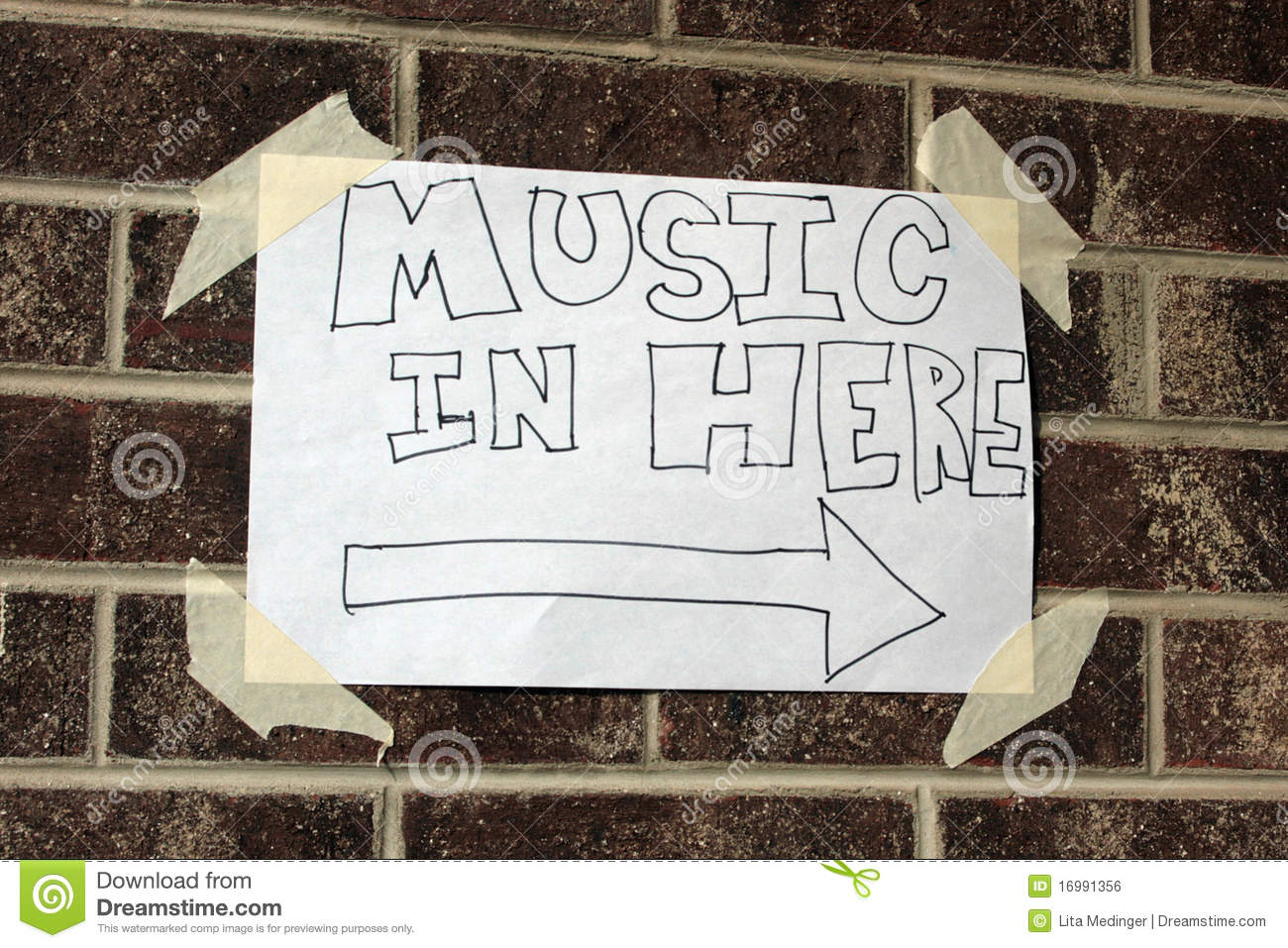 Local music sign royalty free stock image image 16991356 for Local house music