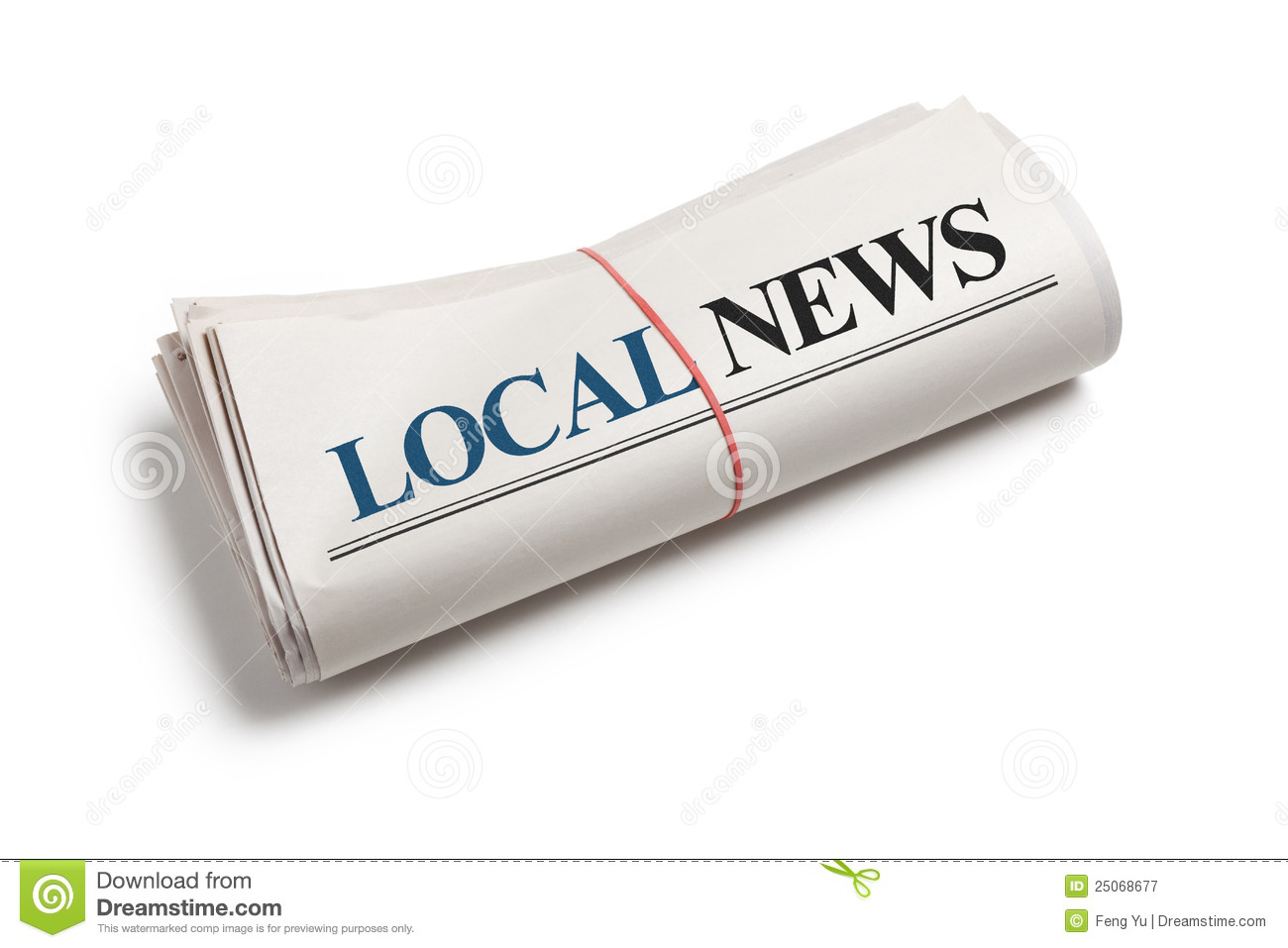 Local News Royalty Free Stock Photography - Image: 25068677