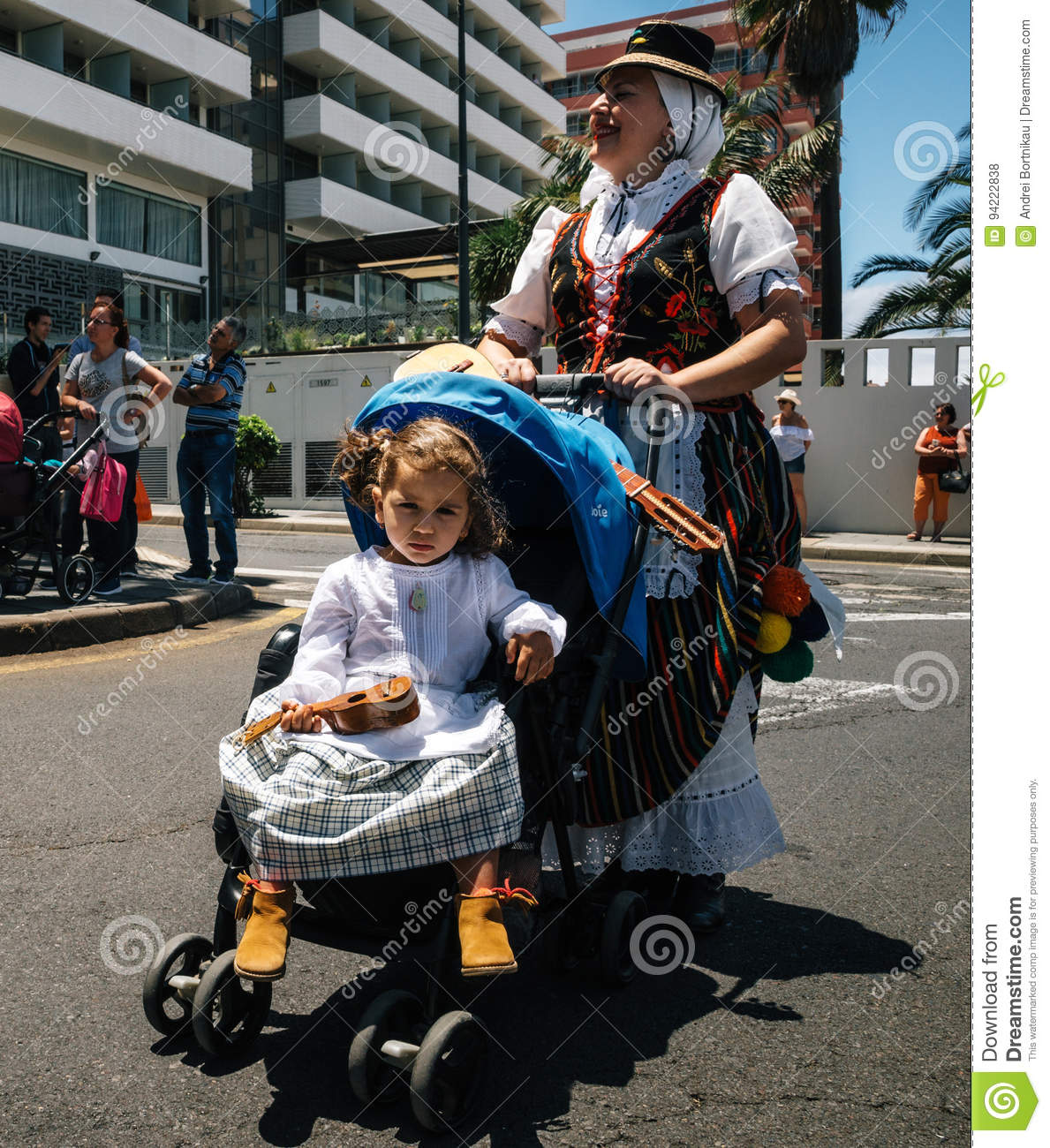 Local residents of Tenerife celebrate the Day of the Canary Islands, Tenerife, Spain