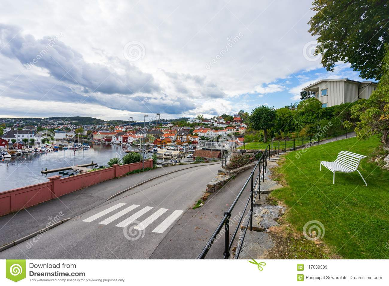 Local sea port in Norway.