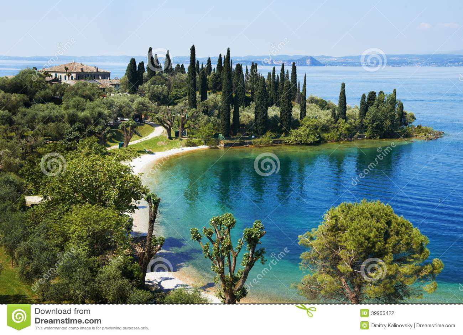 Località Di Soggiorno Del Lago Garda In Italia Fotografia ...