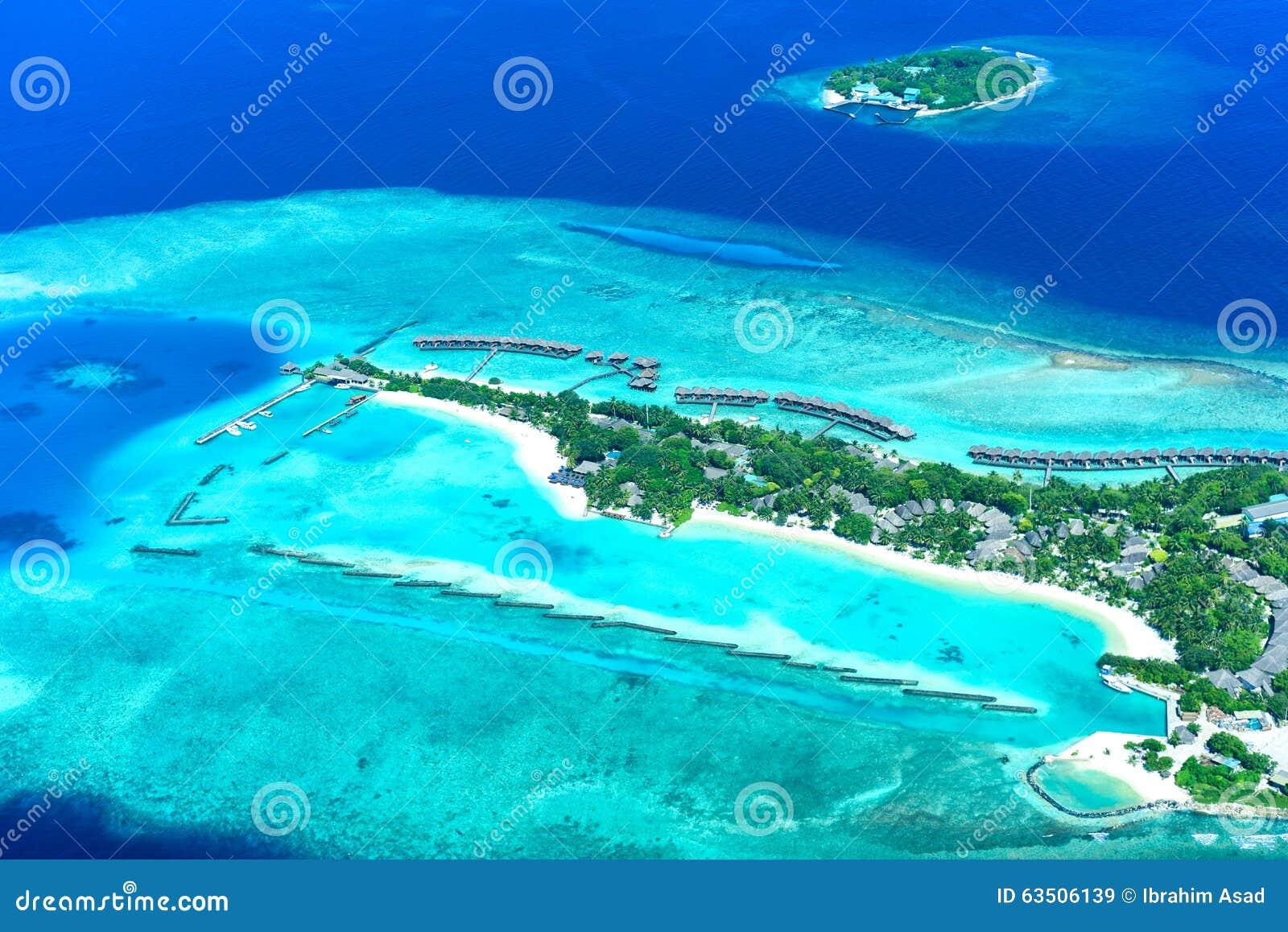 Località Di Soggiorno Della Luna Piena Delle Maldive ...