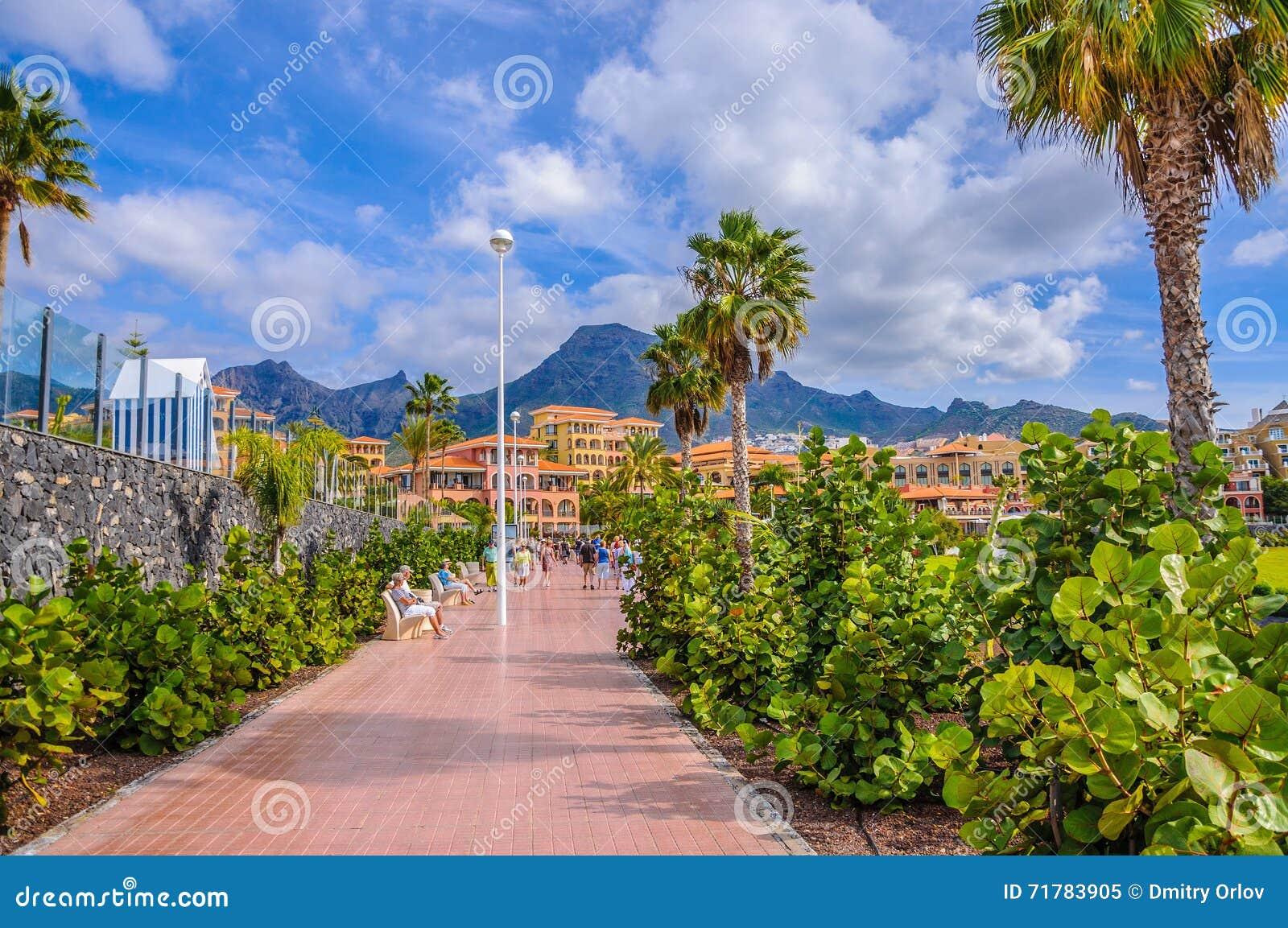 Località Di Soggiorno Delle Isole Canarie Popolare Playa De Las ...