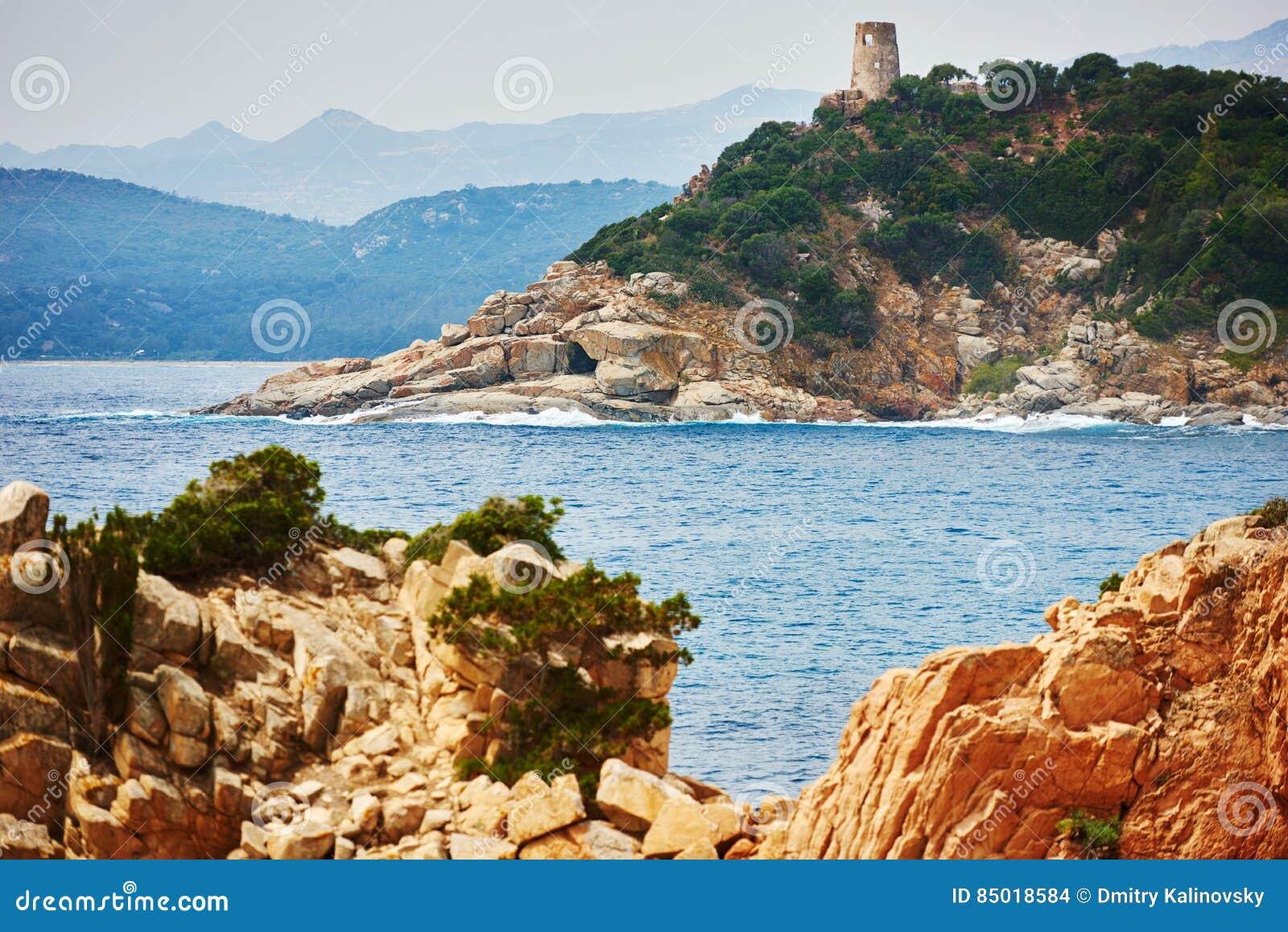 Località Di Soggiorno Di Costa Del Mare Della Sardegna In Italia ...