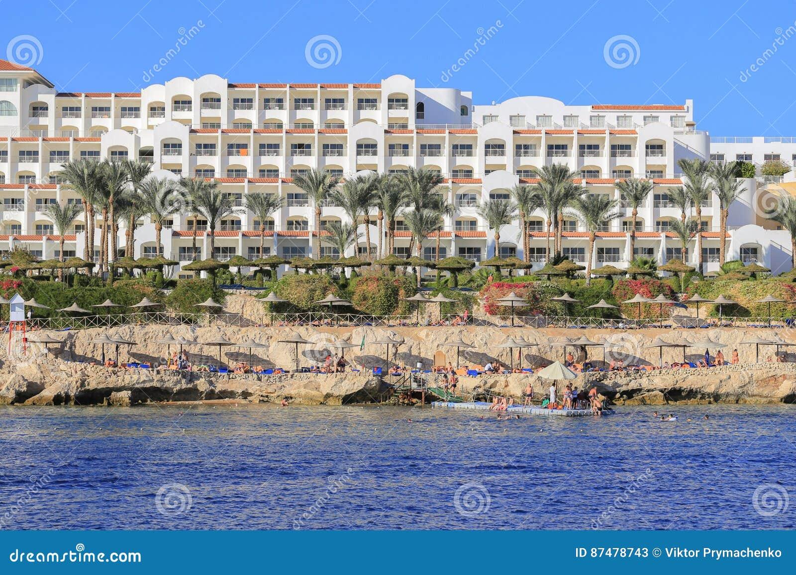 Località Di Soggiorno Di Sharm El-Sheikh Della Costa Fotografia ...