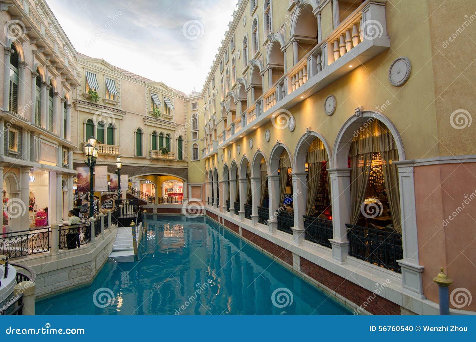 Località Di Soggiorno Di Venezia, Macao, Cina: Immagine Editoriale ...