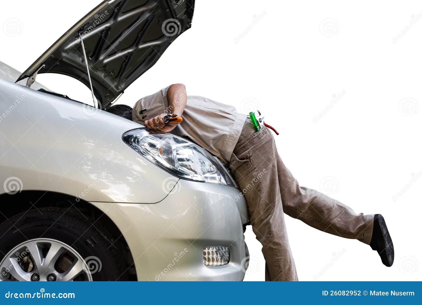 Localización de averías del coche