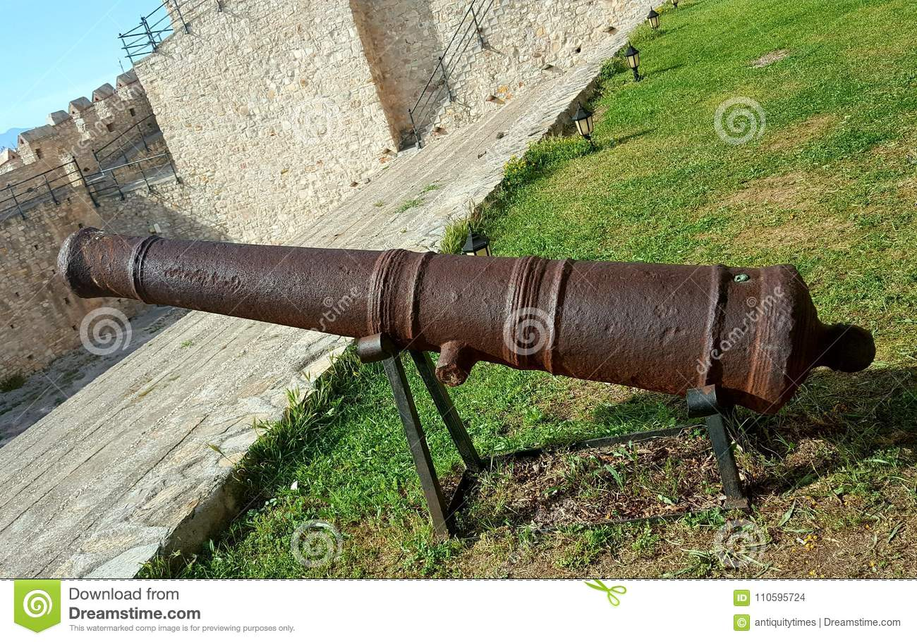 A Cannon In The Ottoman Castle Stock Photo Image Of Ottoman