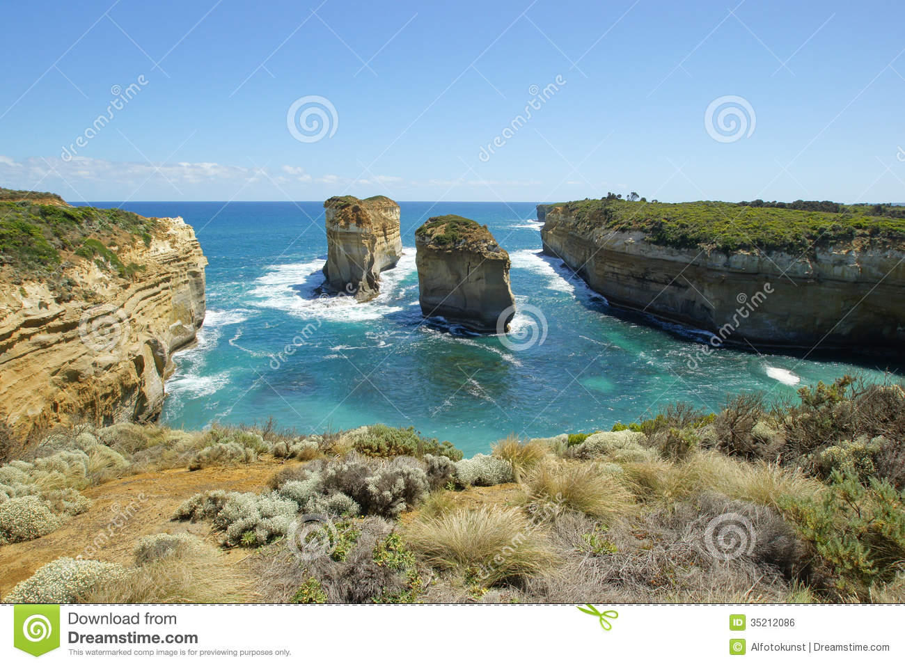 Great Ocean Road - Port C Australia  city photos gallery : Loch Ard Gorge, Great Ocean Road, Australia Royalty Free Stock Image ...