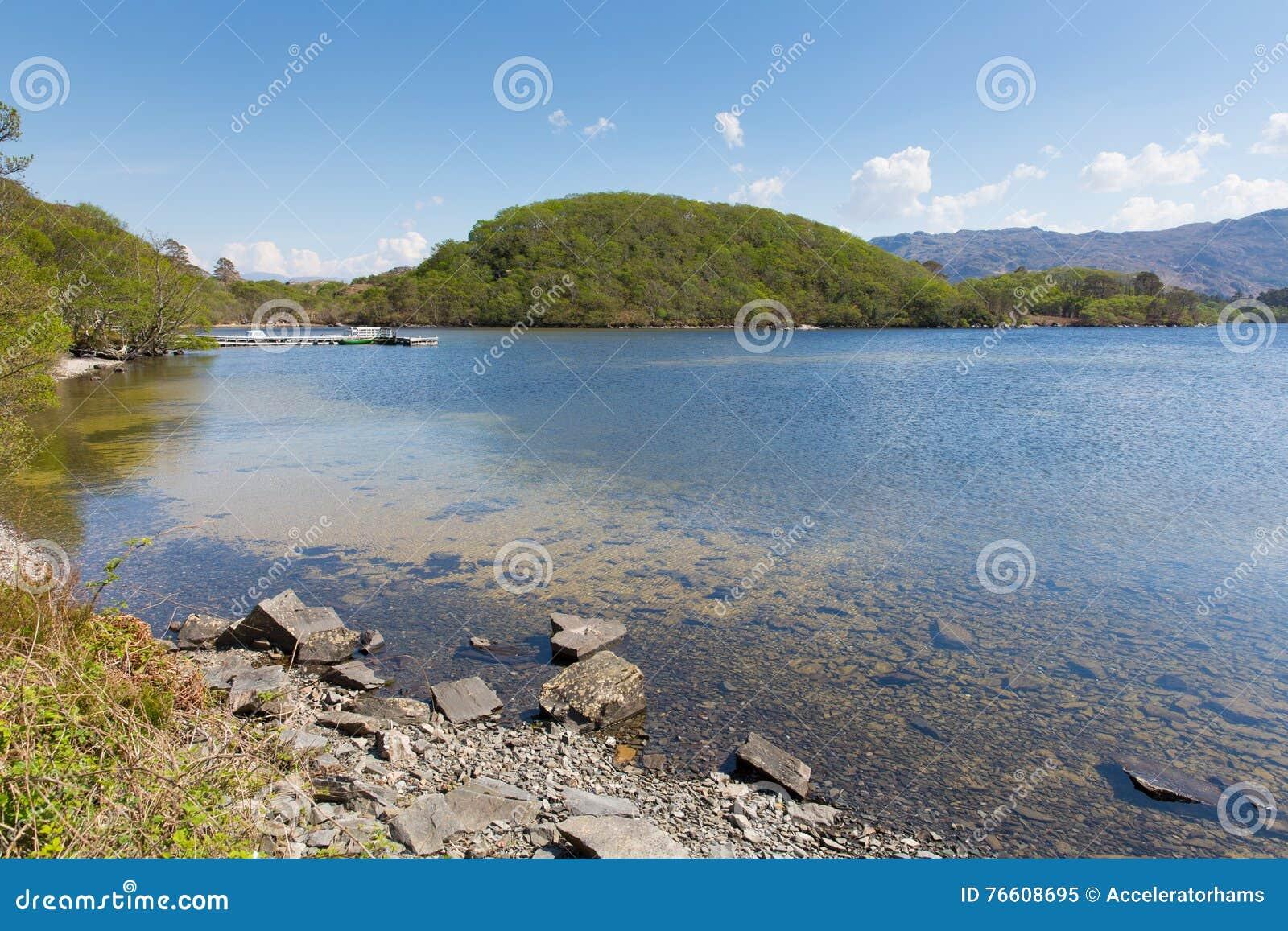 Loch het meer van West- morar mooi Scotish Schotland het UK