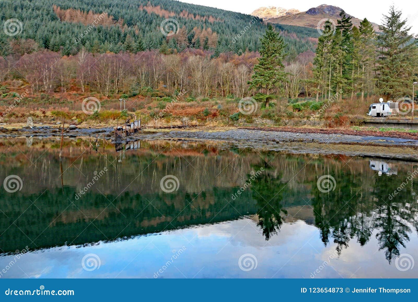Loch lang, Schottland