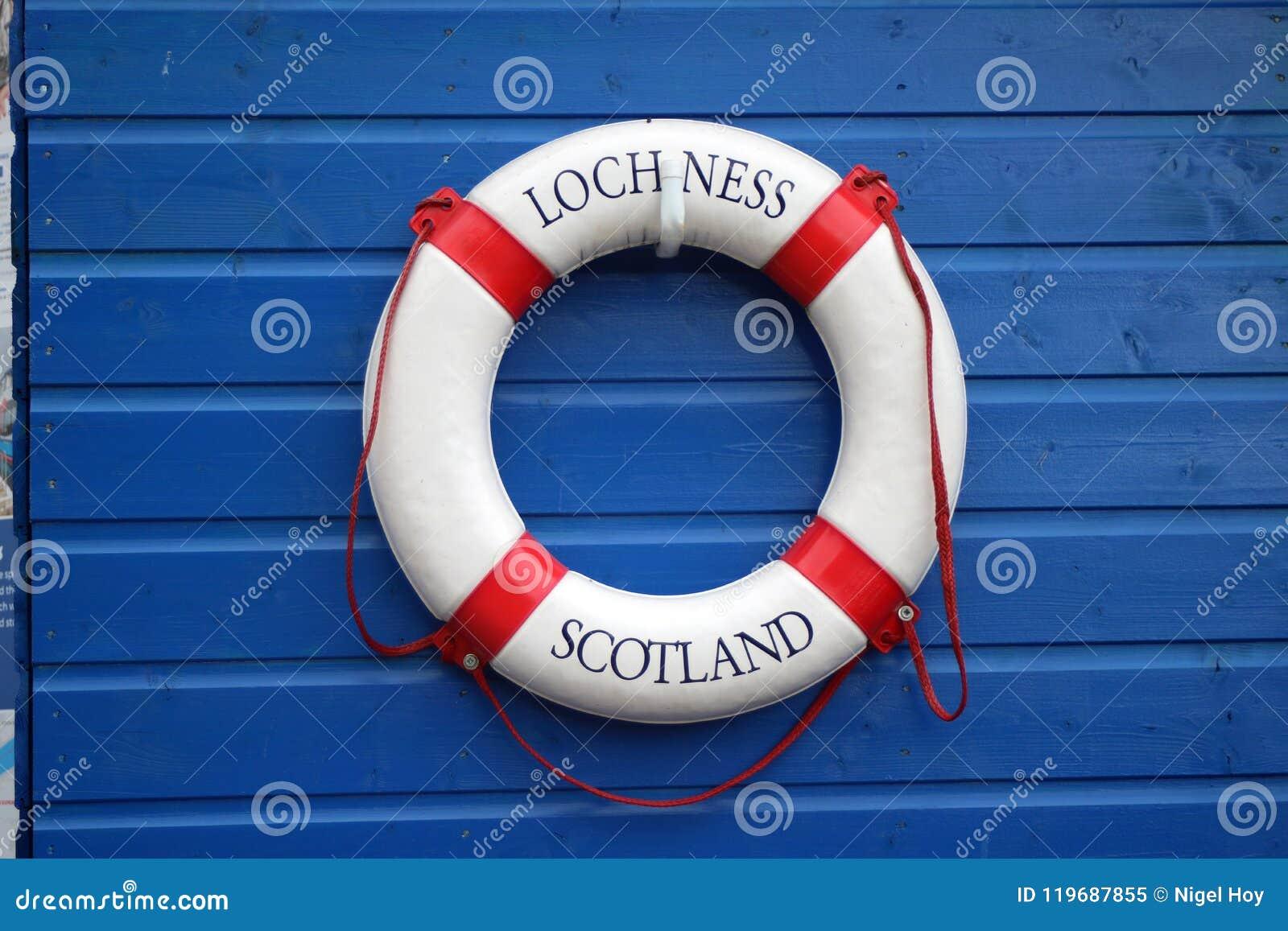 Loch Ness imię na życia preserver