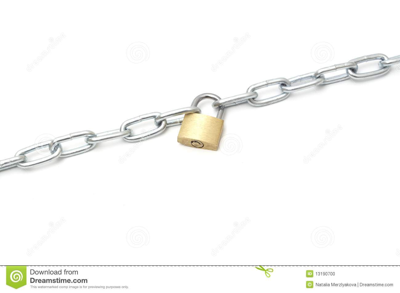 Chains and lock the image kid has it - How to open chain lock ...