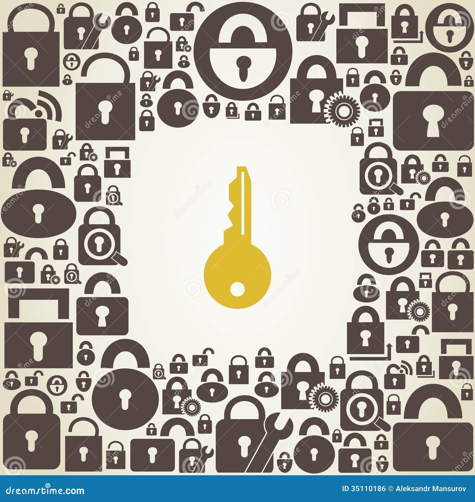 lock key images free