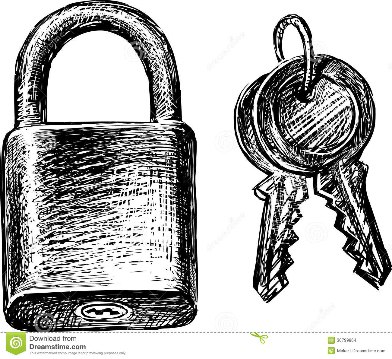 Lock And Keys Stock Images Image 30799864